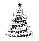 Abstract illustration of a Christmas tree Stock Photography