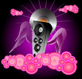 Abstract illustration on a club theme Stock Images