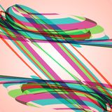 Abstract illustration, colorful background Royalty Free Stock Images