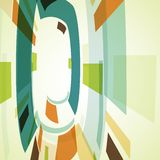 Abstract illustration, colorful background Stock Photo
