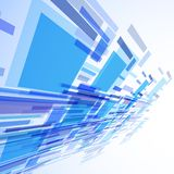 Abstract illustration, colorful background Stock Images