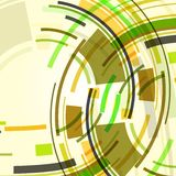 Abstract illustration, colorful background Stock Photography
