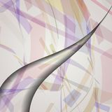 Abstract illustration, colorful composition. Royalty Free Stock Photos
