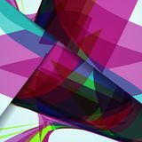 Abstract illustration, colorful composition. Stock Photography