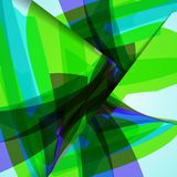 Abstract illustration, colorful composition. Royalty Free Stock Image
