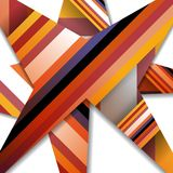Abstract illustration, colorful digital Stock Image