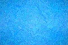 Abstract illustration of dodger blue Oil paint with large brush strokes background, digitally generated. Abstract illustration of dodger blue Oil paint with royalty free stock image