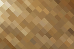 Abstract illustration gold square Royalty Free Stock Image
