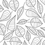 Abstract illustration of leafs. Vector. Art Stock Images
