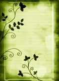 Floral green background Royalty Free Stock Image