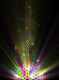Abstract Illustration of Light Effects Royalty Free Stock Image