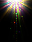Abstract Illustration of Light Effects Stock Photo