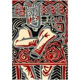 Abstract illustration of man. Stock Photos