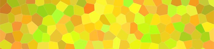 Abstract illustration of peridot bright Little hexagon banner background, digitally generated. Abstract illustration of peridot bright Little hexagon banner vector illustration