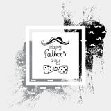 Abstract illustration for postcards, flyers and banners. Ready-made design templates. Happy Father`s Day!. Abstract illustration for postcards, flyers and Royalty Free Stock Images