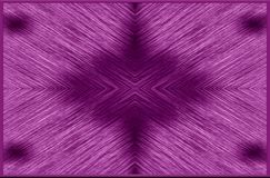 Violet, black colors pattern from blurred stripes in a frame. Author`s design. Abstract illustration. Purple, black, white colors pattern. Textural image Royalty Free Stock Images