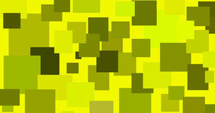 Abstract illustration of randomly located rectangular shapes Stock Images