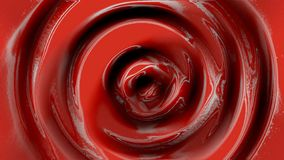 Candy Red Paint ripple stock illustration