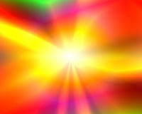 Abstract Illustration: Shining Sun Stock Image