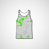 Abstract illustration on singlet Stock Photography