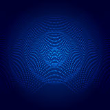 Abstract illustration of sound wave Royalty Free Stock Images