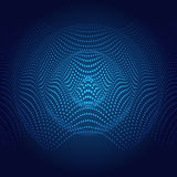 Abstract illustration of sound wave. Stock Images