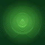 Abstract illustration of sound wave. Royalty Free Stock Photography