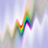 Spectral waves Stock Photography