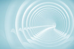 Abstract illustration with spiral tunnel Stock Images