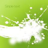 Abstract illustration with splash. Stock Image