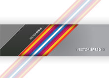 Abstract illustration with stripes Royalty Free Stock Photo