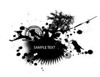 Abstract illustration. Vector. Abstract illustration on white background. Vector Stock Photos