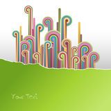 Abstract illustration. Vector Royalty Free Stock Photo