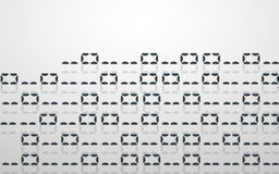 Abstract illustration. Vector streaming binary code background. Royalty Free Stock Image