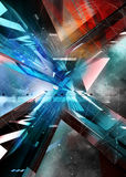 Abstract illustration. virtual background. Stock Image