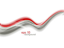 Abstract illustration with waves. Vector Stock Photo
