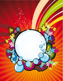 Abstract illustrations design Royalty Free Stock Images