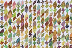 Abstract illustrations of leaves & flowers, conceptual pattern. Design, set, cover & style. Abstract illustrations of leaves & flowers, conceptual pattern. Good Vector Illustration