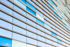 Abstract image of architectural elements. Of modern glass building Stock Photo