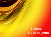 Abstract image of the Belgian flag Royalty Free Stock Photography
