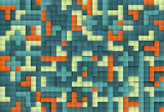 Abstract image of blocks background, pattern blocks Royalty Free Stock Photos