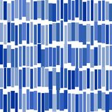 Abstract image of blue rectangles vector illustration