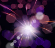 Abstract image, blurred fireworks Royalty Free Stock Photos
