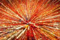 Abstract image of candle lights Royalty Free Stock Photos