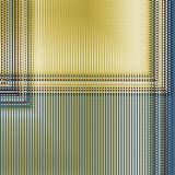 Abstract image, colorful graphics.It can be used as a template for tissue or interior. Abstract background in vertical stripes, blue and yellow colors Stock Photos
