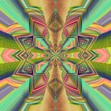Abstract image, colorful graphics and tapestry. It can be used as a pattern for the fabric royalty free illustration