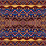 Abstract image, colorful graphics, tapestry. Horizontal pattern Royalty Free Stock Images