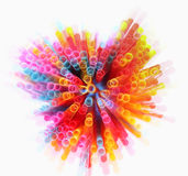 Abstract image of Colorful light explode Stock Image