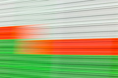 Abstract image of colors motion blur. Defocused Stock Images