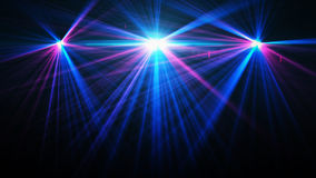 Abstract image of concert lighting. Against a dark background Stock Photos